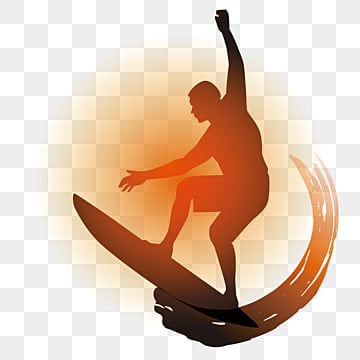 Surfing Silhouette Png Images Vector And Psd Files Free