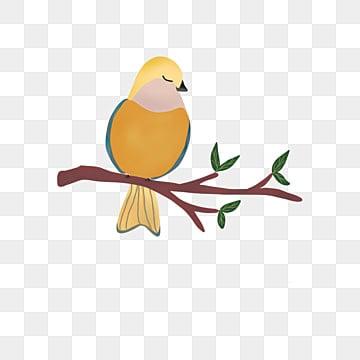 Cartoon Bird Elegance Love Pattern Border Vector Material