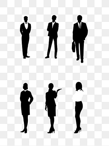 Black Business People Silhouettes, Business Clipart, People Clipart, Business  Man PNG and Vector with Transparent Background for Free Download | Black  business, Business people, Silhouette