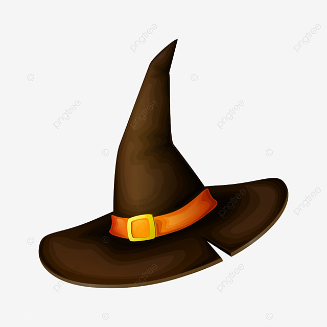 Black Halloween Witch Hat Png Material Black Halloween Witch Hat Png Transparent Clipart Image And Psd File For Free Download