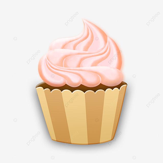 Gateau Cupcake Nourriture Pour Enfants Dessin Anime Mignon Gateau