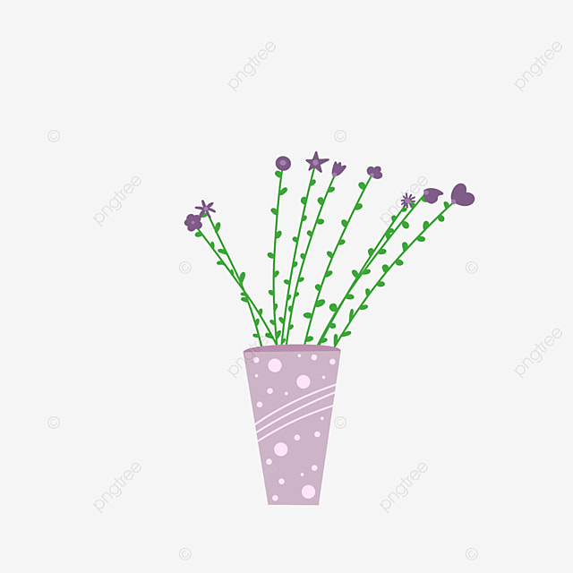 94 Gambar Gambar Kartun Vas Bunga Kekinian