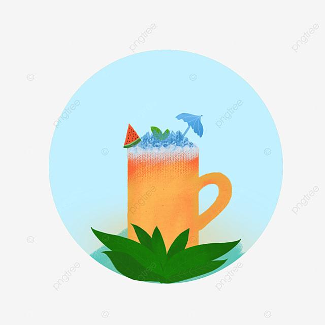 Pijiu Cerveza Vaso De Agua Cubitos De Hielo Lixia Sandía Helada