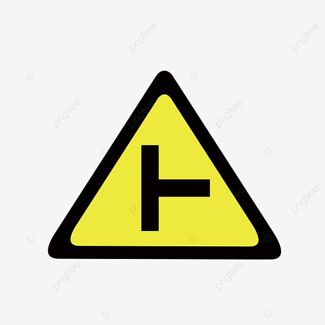 Traffic Warning Sign, Traffic Road, Warning Sign PNG