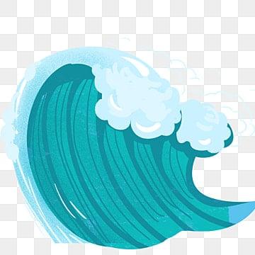 Ocean wave. Free download relief stickers