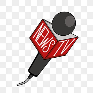 Microphone news. Interview png vector psd