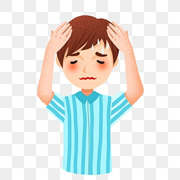 Cartoon Headache Png Vector Psd And Clipart With Transparent Background For Free Download Pngtree