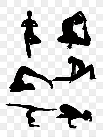 Yoga Silhouette Vector Png Vector Psd And Clipart With Transparent Background For Free Download Pngtree