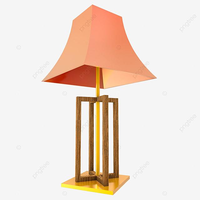 C4d En Or De Table Créative Lampe Bois XZTkuPiO