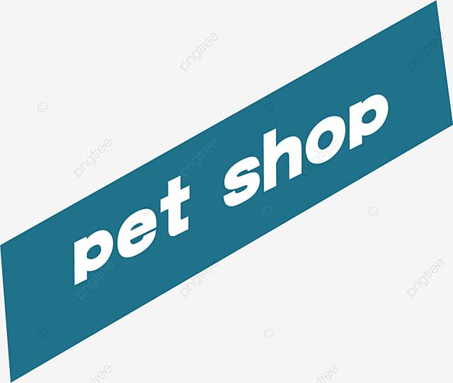 Cartoon English Word Pet Shop, Pet, Shop, English Words PNG