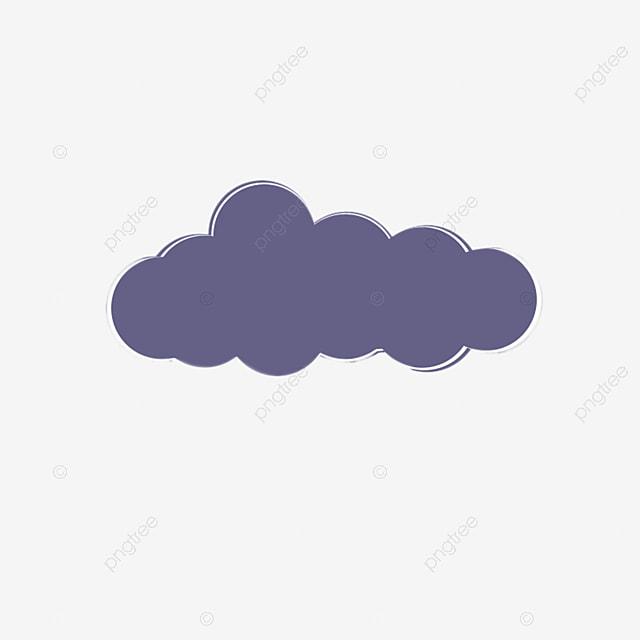 Cartoon Clouds Purple Clouds Clouds Decoration Cartoon