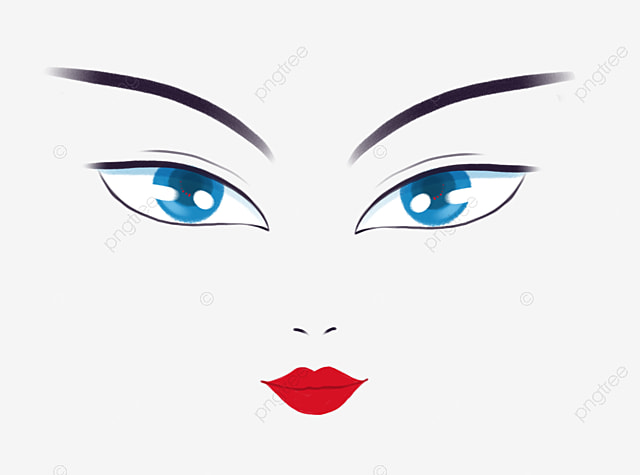 Character Face Eyes Eyebrows Nose Png Transparent Clipart Image And Psd File For Free Download