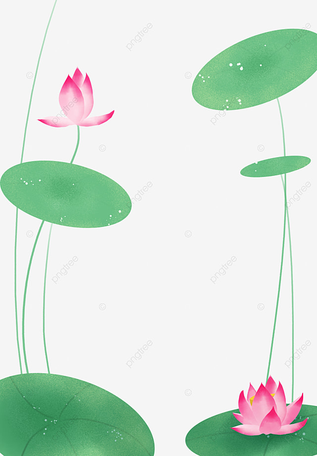 Chinese Style Lotus Flower Border Decoration Free Buckle Material
