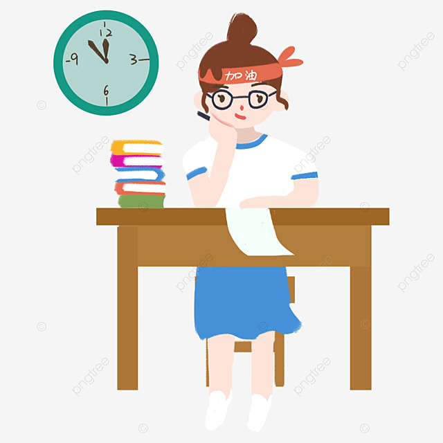 College Entrance Examination Students Who Study Hard To Do Homework College Entrance Examination College Entrance Examination Work Png Transparent Clipart Image And Psd File For Free Download