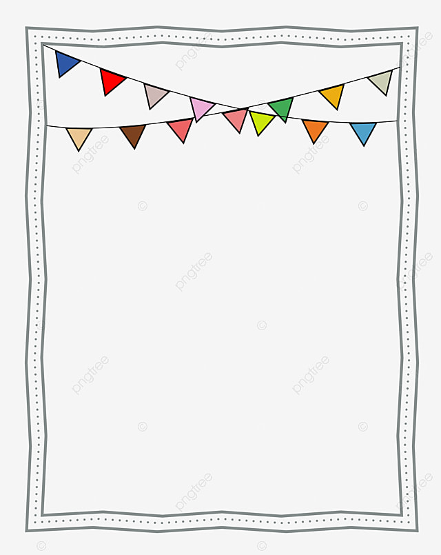 Cute Colorful Triangle Flag Hanging Ornament Vector ...