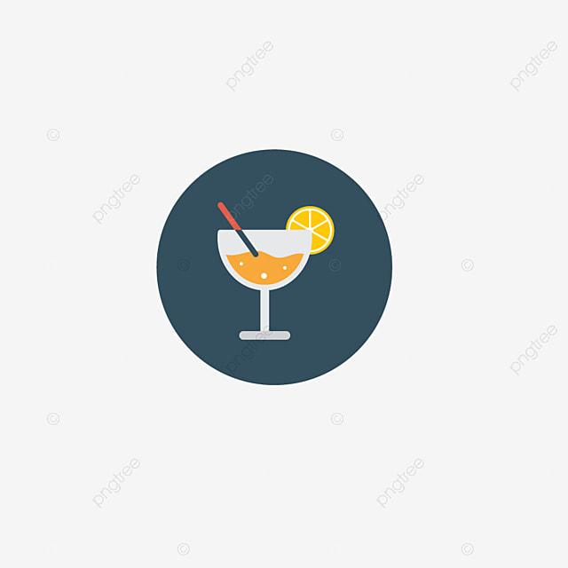 Flat Orange Juice App Icon, Flat, Orange Juice, App PNG