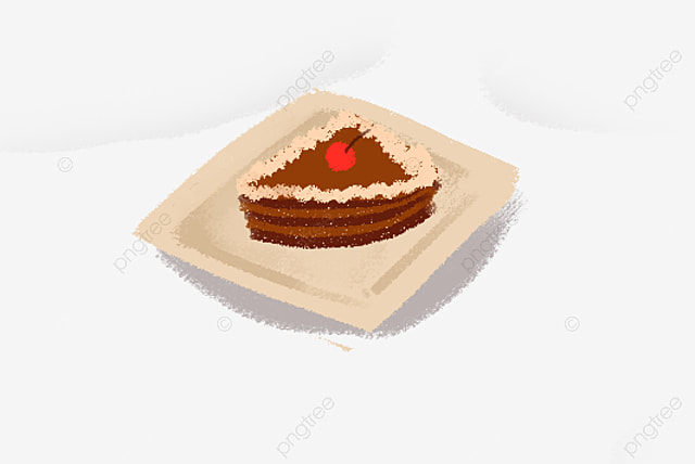 Hand Painted Catering Advertising Delicious Dessert Cake Cartoon Design Free Buckle Element Advertising Illustration Illustrator Decorative Png Transparent Clipart Image And Psd File For Free Download