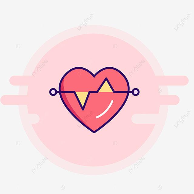 Human Heart Icon Design, Love, Cartoon Love, Human Heart PNG
