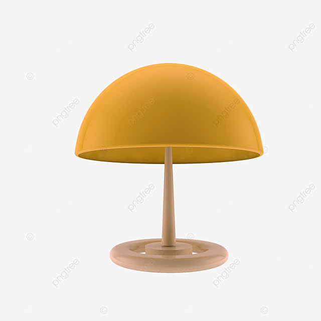 Lampe De Chevet Ronde Ronde Image Decorative Chevet Jaune