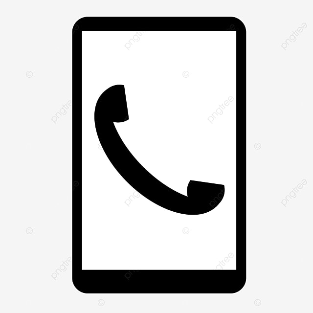 appel de t u00e9l u00e9phone portable ic u00f4ne de t u00e9l u00e9phone noir et blanc cv num u00e9ro de t u00e9l u00e9phone portable
