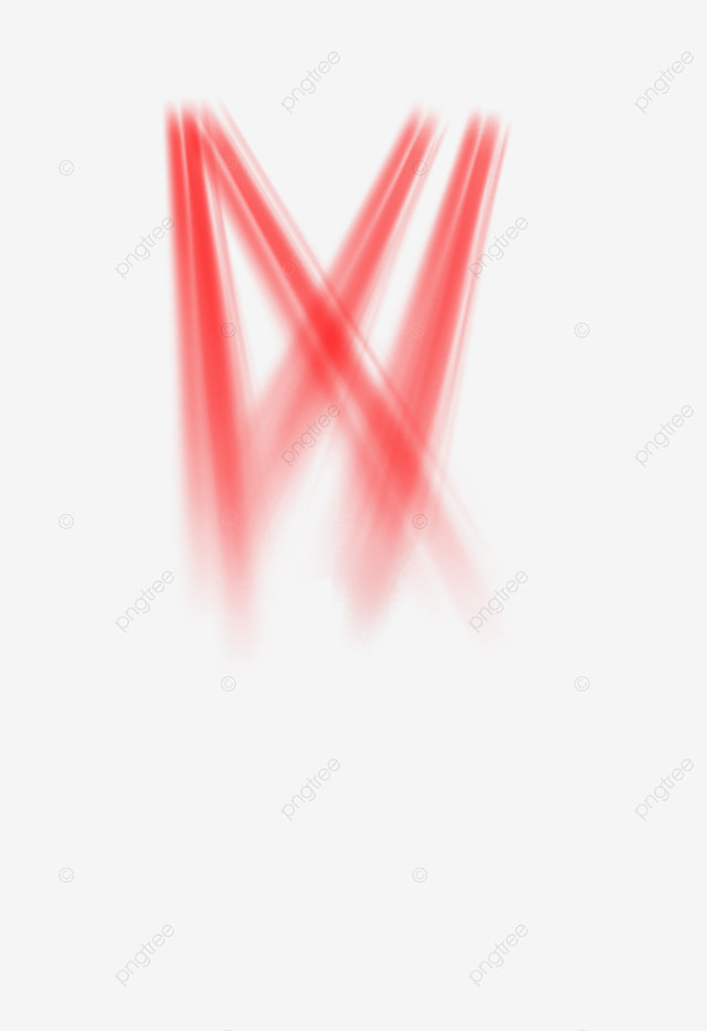 red stage light beam  flash point  colorful png
