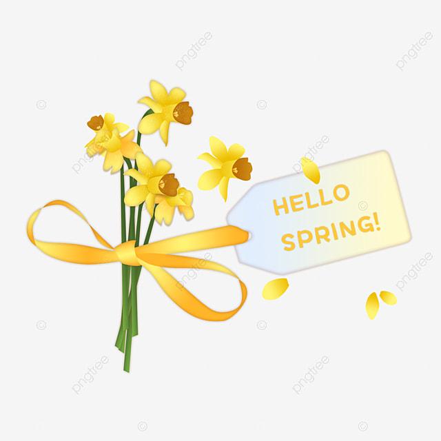 Halo Musim Bunga Bunga Musim Semi Hello Musim Semi Musim Semi