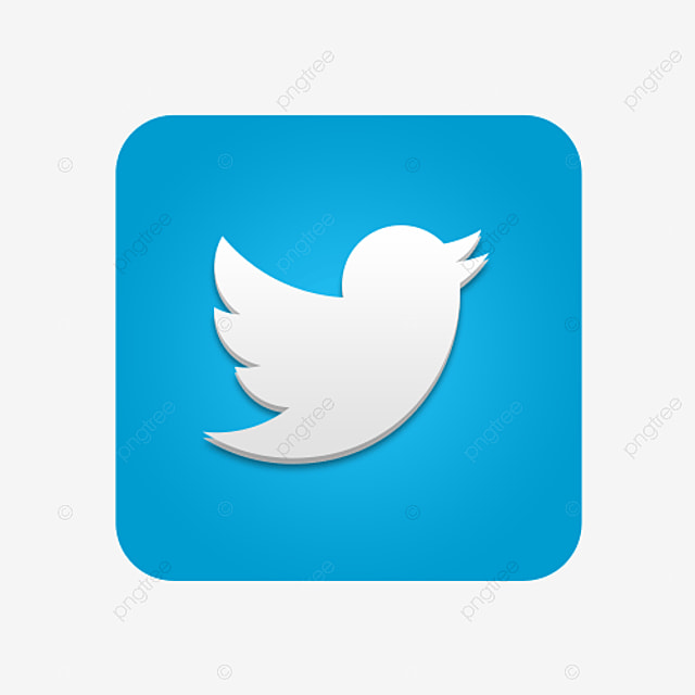 Twitter Free Button Png Image Twitter Logo Twitter Vector