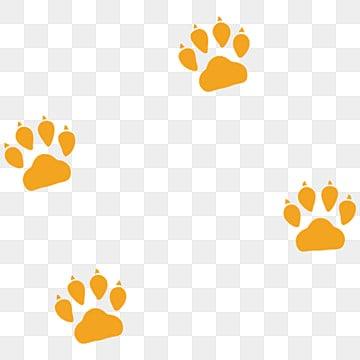 آثار أقدام الحيوانات Png الصور ناقل و Psd الملفات تحميل مجاني على Pngtree