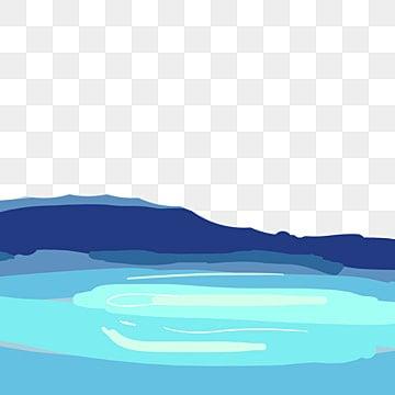 скачать мультфильм озеро png, озеро, озеро, лужа воды PNG и PSD