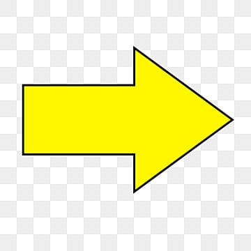 Yellow Arrow Png, Vector, PSD, and Clipart With ...