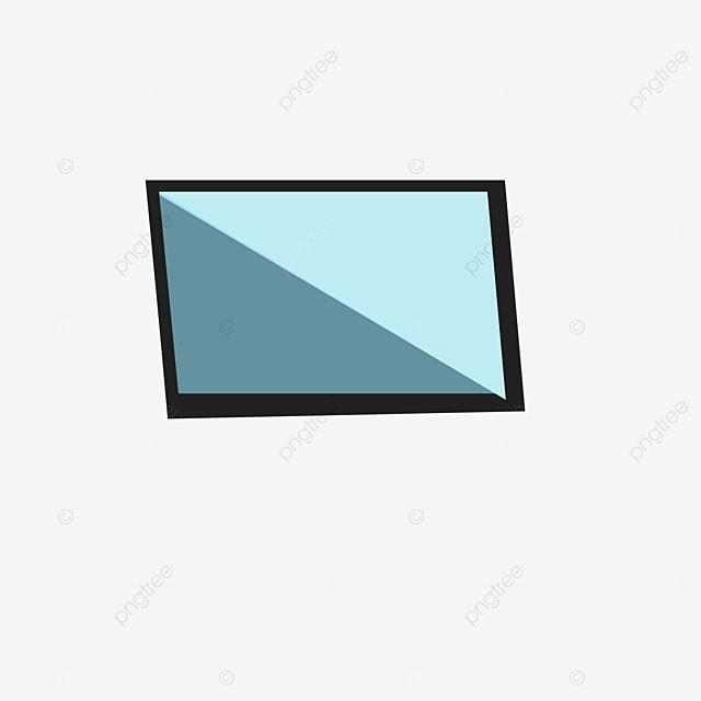 Cartoon Glass Png Download, Computer Screen, A Piece Of