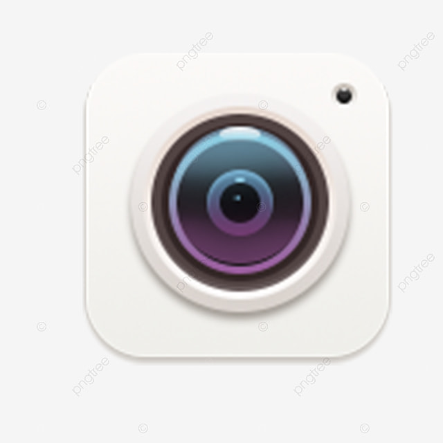 Cartoon Mobile Phone Camera Icon Download, Camera Icon
