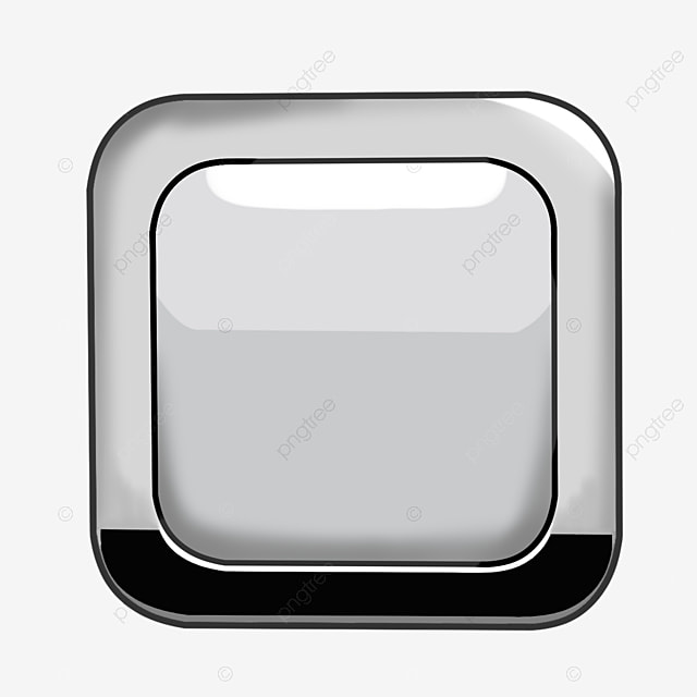 Square Button Png, Vector, PSD, And Clipart With