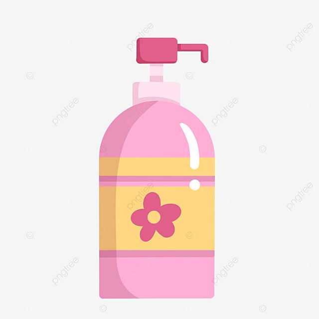 Sterilization Pink Hand Sanitizer Illustration, Hand Sanitizer ...