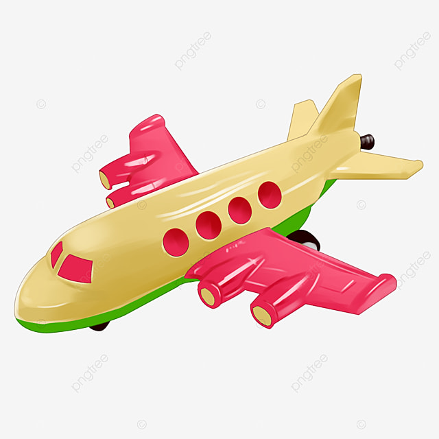 Toy Plane Toy Airplane Cartoon Png Transparent Clipart Image