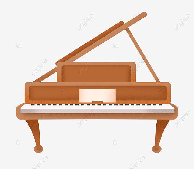 Upscale Piano Instrument Illustration, Piano Instrument