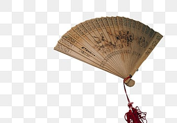 Hand Painted Chinese Style Classical Sandalwood Fan, Tan Fan