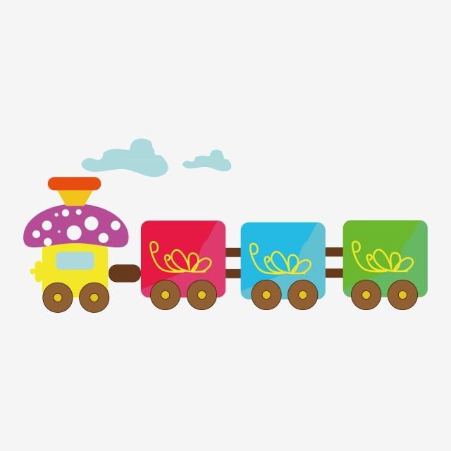 الملونة الكرتون القطار رسوم متحركة تدريب القصاصات الفنية زاهى الألوان Png والمتجهات للتحميل مجانا