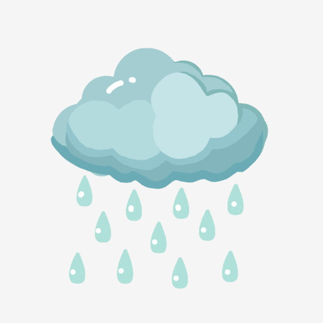 gambar ilustrasi hujan awan yang ditarik tangan lukisan tangan awan hujan png dan psd untuk muat turun percuma lukisan tangan awan hujan png dan psd