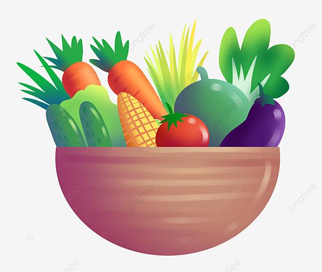 سلة الخضار مرسومة باليد التوضيح التوضيح الكرتون مرسومة باليد التوضيح سلة الخضروات Png وملف Psd للتحميل مجانا