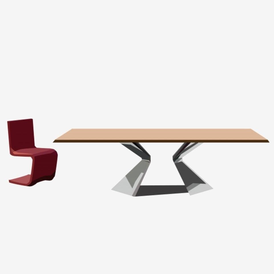 Ikea Style Scandinave Mobilier Table Basse Minimaliste Tabouret