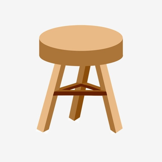 Fantastic Round Wooden Bench Wooden Bench Stool Small Stool Png Short Links Chair Design For Home Short Linksinfo
