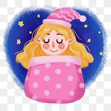 I cartoni animati di dormire naso che cola di bolle di 碧琪 bolla di