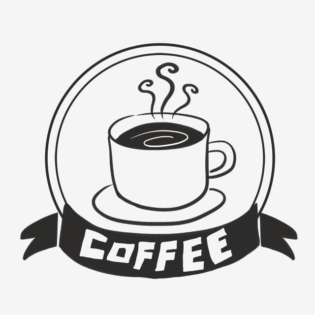 نمط فنجان القهوة السوداء الزخرفية فنجان قهوة قهوة أسود Png وملف Psd للتحميل مجانا
