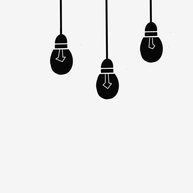 gambar bahan hiasan bola lampu gantung minimalis hitam hitam dan putih gaya sederhana sederhana png dan psd untuk muat turun percuma gambar bahan hiasan bola lampu gantung