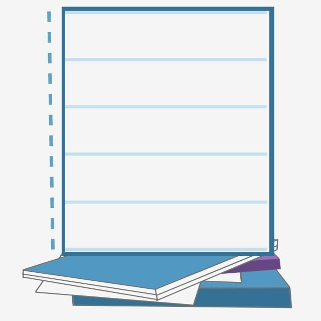 Bleu Notes De Livre Notes Illustration Notes Notes De Livre