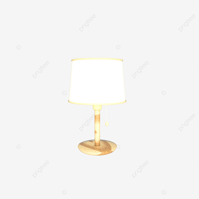 C4d Stereo Simulation Table Lamp Bedroom Bedside Lamp C4d