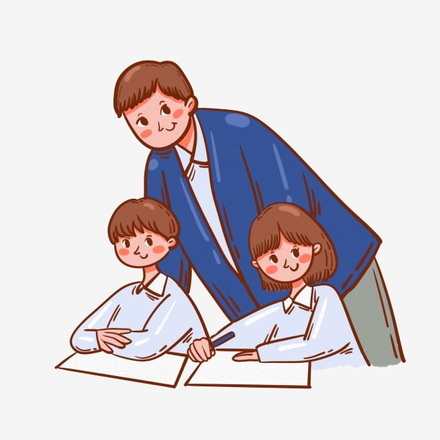 Cartoon Cute Vector Free Training Class Training Teacher And Student Cartoon Cute Vector Png Transparent Clipart Image And Psd File For Free Download