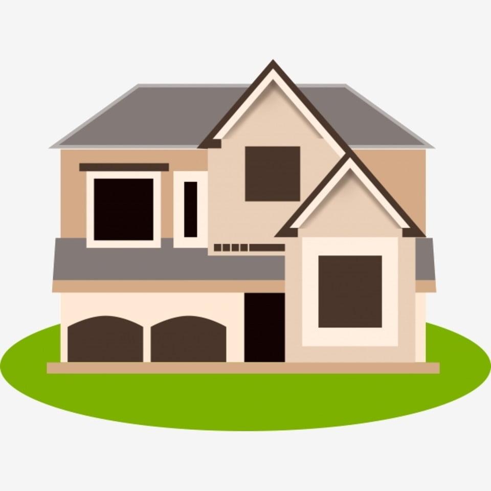 119f5fd63 منزل الكرتون المنزل الأوروبي المنزل الكلاسيكي منزل صغير من طابقين حر PNG و  PSD