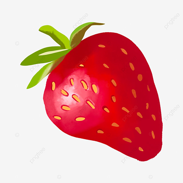 Cartoon Red Big Strawberry Download Cartoon Strawberry Big Strawberry Red Strawberry Png Transparent Clipart Image And Psd File For Free Download